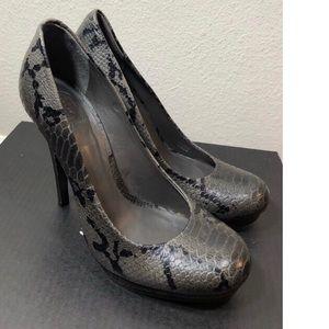 Tory Burch Jude snake skin high heels size 8.5